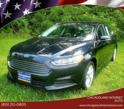 2014 Ford Fusion for sale at Chicagoland Internet Auto - 410 N Vine St New Lenox IL, 60451 in New Lenox IL