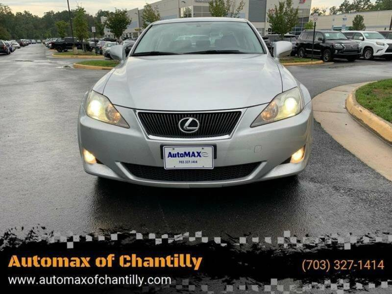 2007 Lexus IS 250 for sale at Automax of Chantilly in Chantilly VA