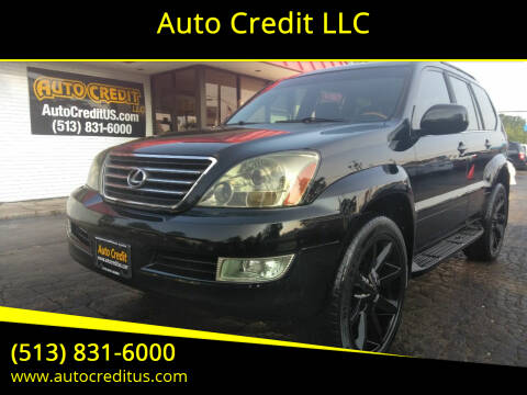 2006 Lexus GX 470 for sale at Auto Credit LLC in Milford OH
