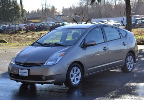 2004 Toyota Prius for sale at Skyline Motors Auto Sales in Tacoma WA