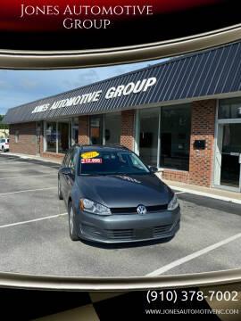 2015 Volkswagen Golf SportWagen for sale at Jones Automotive Group in Jacksonville NC