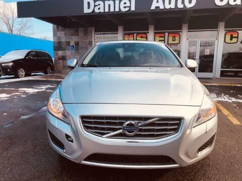 2012 Volvo S60 for sale at Daniel Auto Sales inc in Clinton Township MI