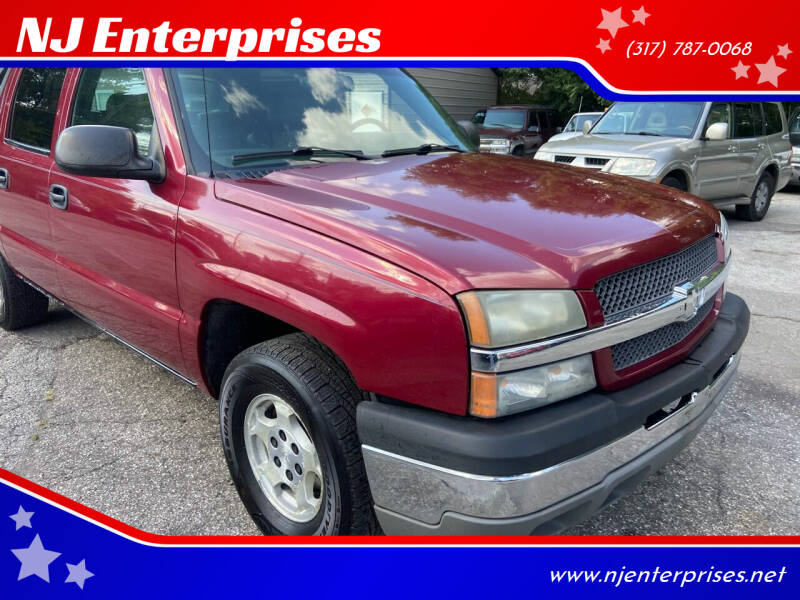 2004 Chevrolet Avalanche for sale at NJ Enterprises in Indianapolis IN