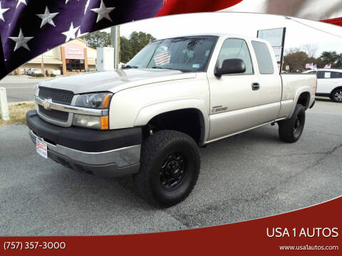 2004 Chevrolet Silverado 2500HD for sale at USA 1 Autos in Smithfield VA