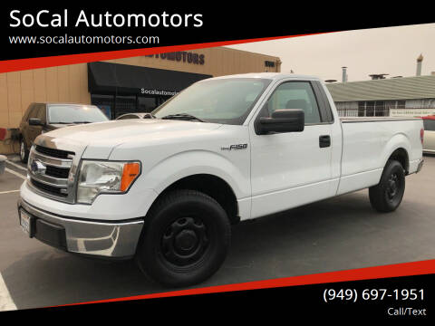 2013 Ford F-150 for sale at SoCal Automotors in Costa Mesa CA
