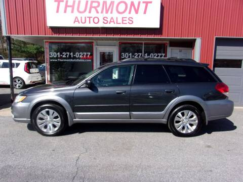 2009 Subaru Outback for sale at THURMONT AUTO SALES in Thurmont MD