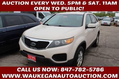 2011 Kia Sorento for sale at Waukegan Auto Auction in Waukegan IL
