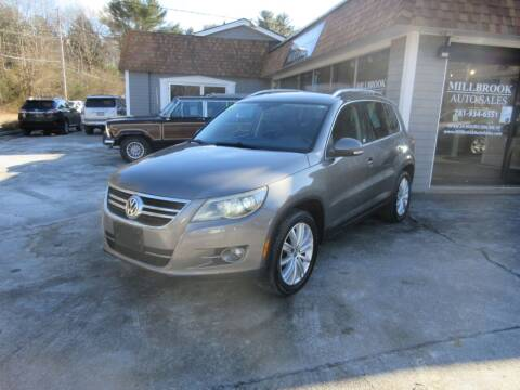 2009 Volkswagen Tiguan for sale at Millbrook Auto Sales in Duxbury MA