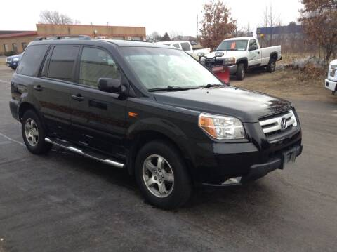 2007 Honda Pilot for sale at Bruns & Sons Auto in Plover WI