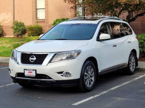 2013 Nissan Pathfinder for sale at SEATTLE FINEST MOTORS in Lynnwood WA