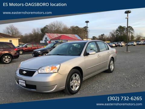 2006 Chevrolet Malibu for sale at ES Motors-DAGSBORO location in Dagsboro DE