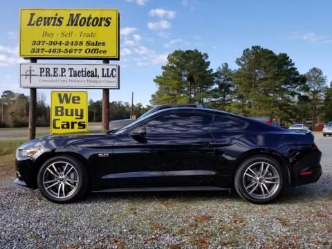 2015 Ford Mustang for sale at Lewis Motors LLC in Deridder LA