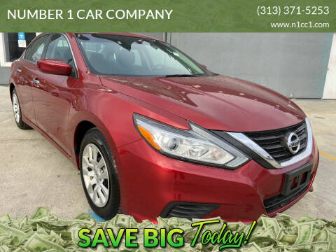 2016 Nissan Altima for sale at NUMBER 1 CAR COMPANY in Detroit MI