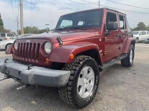 2007 Jeep Wrangler Unlimited for sale at Safeway Auto Sales in Horn Lake MS