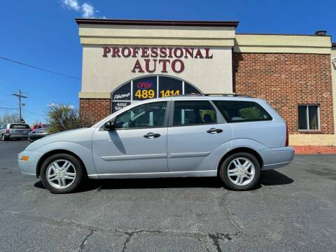 2001 Ford Focus for sale at Professional Auto Sales & Service in Fort Wayne IN
