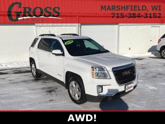 2016 GMC Terrain for sale at Gross Motors of Marshfield in Marshfield WI
