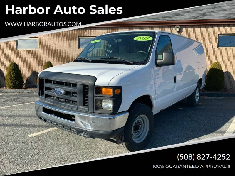 2013 Ford E-Series Cargo for sale at Harbor Auto Sales in Hyannis MA