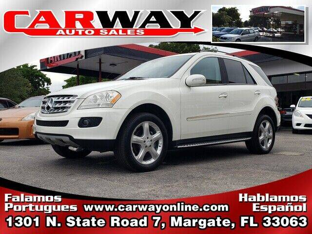2008 Mercedes-Benz M-Class for sale at CARWAY Auto Sales in Margate FL