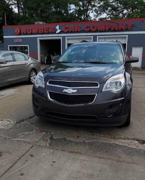 2013 Chevrolet Equinox for sale at NUMBER 1 CAR COMPANY in Detroit MI