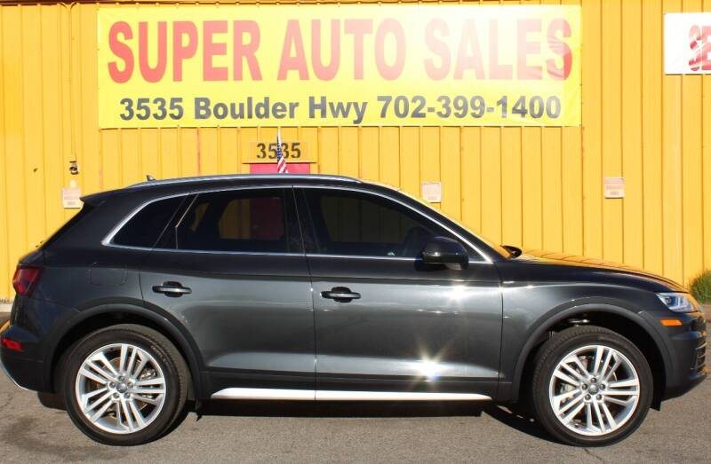 2018 Audi Q5 for sale at Super Auto Sales in Las Vegas NV
