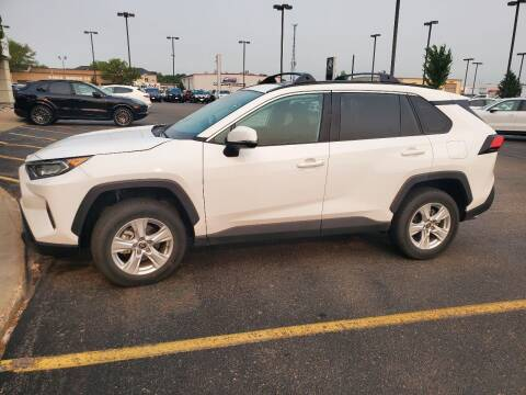 2021 Toyota RAV4 for sale at GOOD NEWS AUTO SALES in Fargo ND