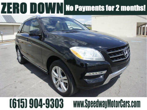 2014 Mercedes-Benz M-Class for sale at Speedway Motors in Murfreesboro TN