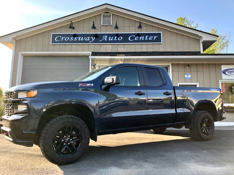 2019 Chevrolet Silverado 1500 for sale at CROSSWAY AUTO CENTER in East Barre VT