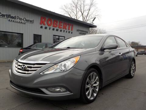 2013 Hyundai Sonata for sale at Roberti Automotive in Kingston NY