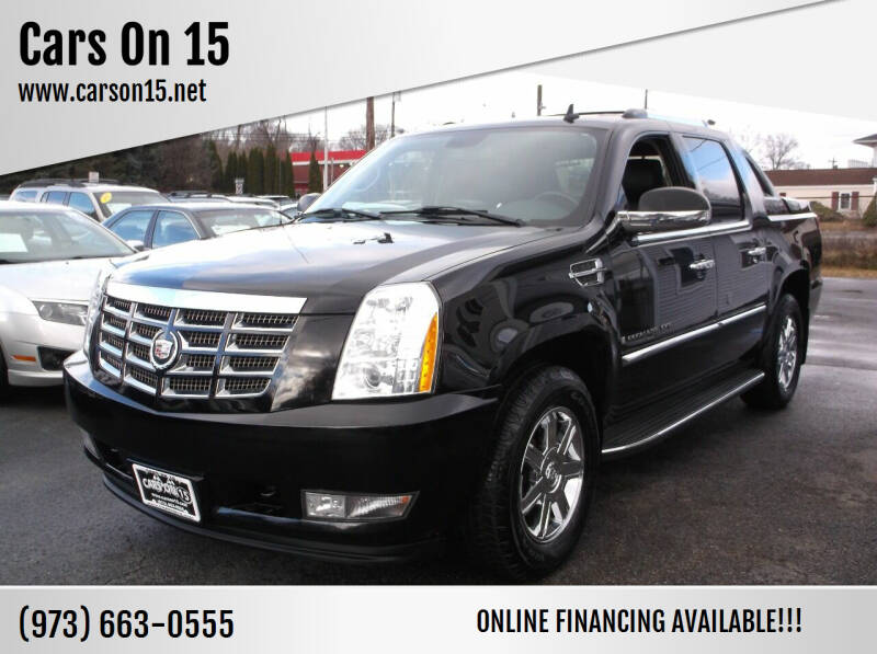 2007 Cadillac Escalade EXT for sale at Cars On 15 in Lake Hopatcong NJ