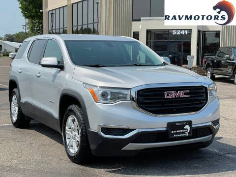 2018 GMC Acadia for sale at RAVMOTORS 2 in Crystal MN