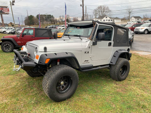 2004 Jeep Wrangler for sale at Wildcat Used Cars in Somerset KY