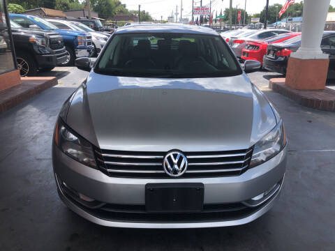2013 Volkswagen Passat for sale at Kings Auto Group in Tampa FL
