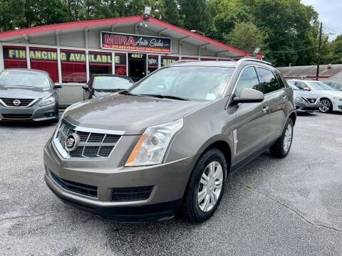 2012 Cadillac SRX for sale at Mira Auto Sales in Raleigh NC