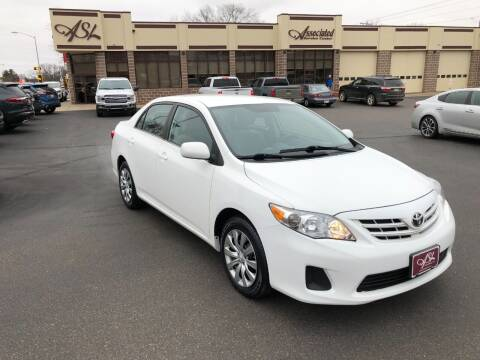 2013 Toyota Corolla for sale at ASSOCIATED SALES & LEASING in Marshfield WI