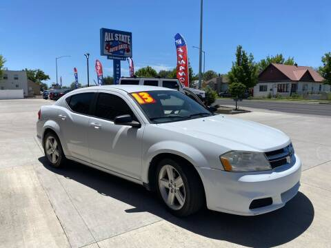 2013 Dodge Avenger for sale at Allstate Auto Sales in Twin Falls ID