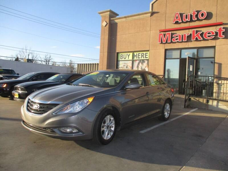 2013 Hyundai Sonata for sale at Auto Market in Oklahoma City OK