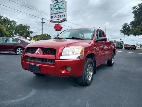 2007 Mitsubishi Raider for sale at BAYSIDE AUTOMALL in Lakeland FL