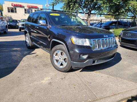 2012 Jeep Grand Cherokee for sale at Capital Motors Credit, Inc. in Chicago IL