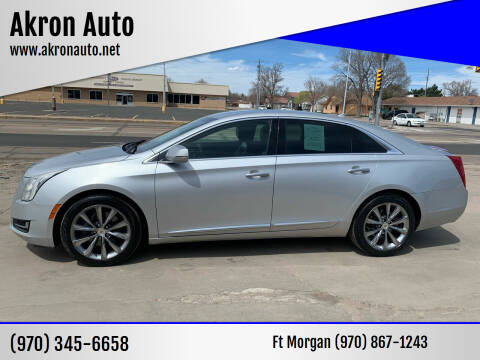 2013 Cadillac XTS for sale at Akron Auto - Fort Morgan in Fort Morgan CO