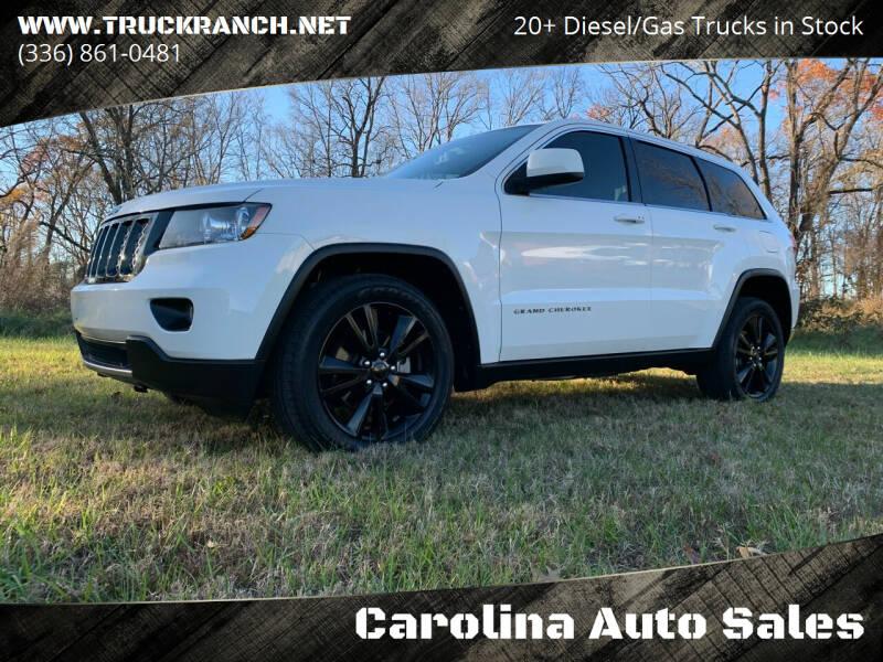 2012 Jeep Grand Cherokee for sale at Carolina Auto Sales in Trinity NC