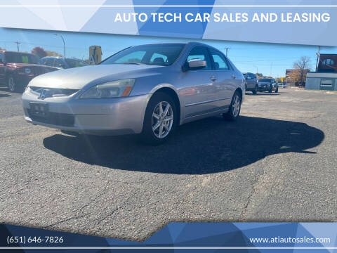 2004 Honda Accord for sale at Auto Tech Car Sales in Saint Paul MN