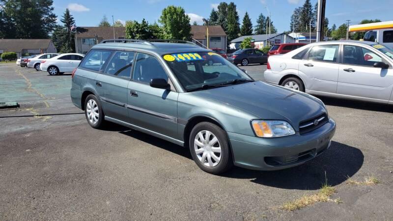 2002 Subaru Legacy for sale at Good Guys Used Cars Llc in East Olympia WA