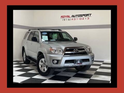 2008 Toyota 4Runner for sale at Royal AutoSport in Sacramento CA