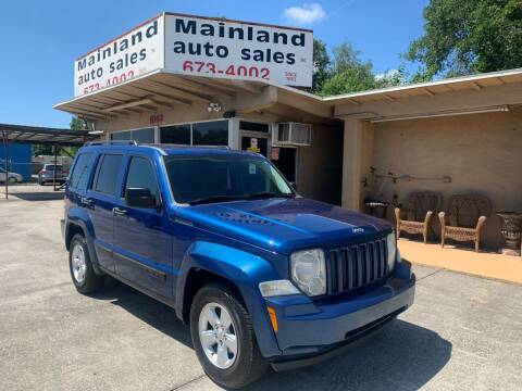 2010 Jeep Liberty for sale at Mainland Auto Sales Inc in Daytona Beach FL