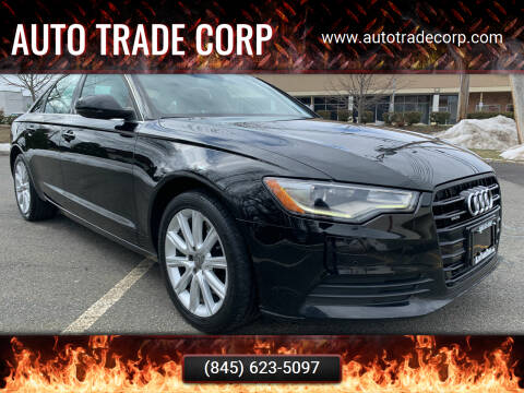 2014 Audi A6 for sale at AUTO TRADE CORP in Nanuet NY
