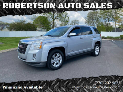 2013 GMC Terrain for sale at ROBERTSON AUTO SALES in Bowling Green KY