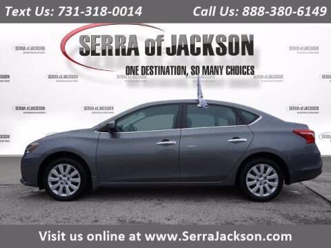 2017 Nissan Sentra for sale at Serra Of Jackson in Jackson TN