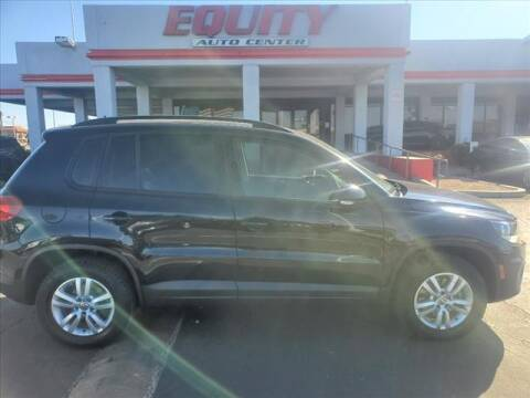 2016 Volkswagen Tiguan for sale at EQUITY AUTO CENTER in Phoenix AZ