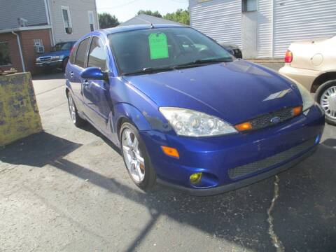 2004 Ford Focus SVT for sale at GREG'S EAGLE AUTO SALES in Massillon OH