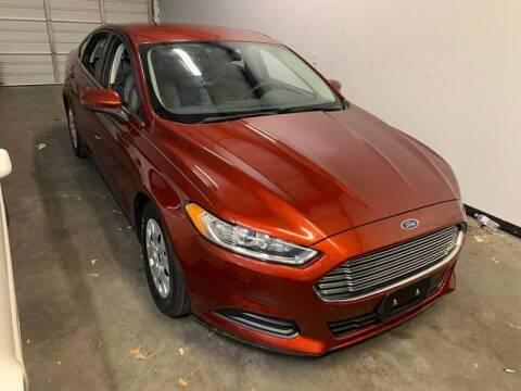 2014 Ford Fusion for sale at Bad Credit Call Fadi in Dallas TX